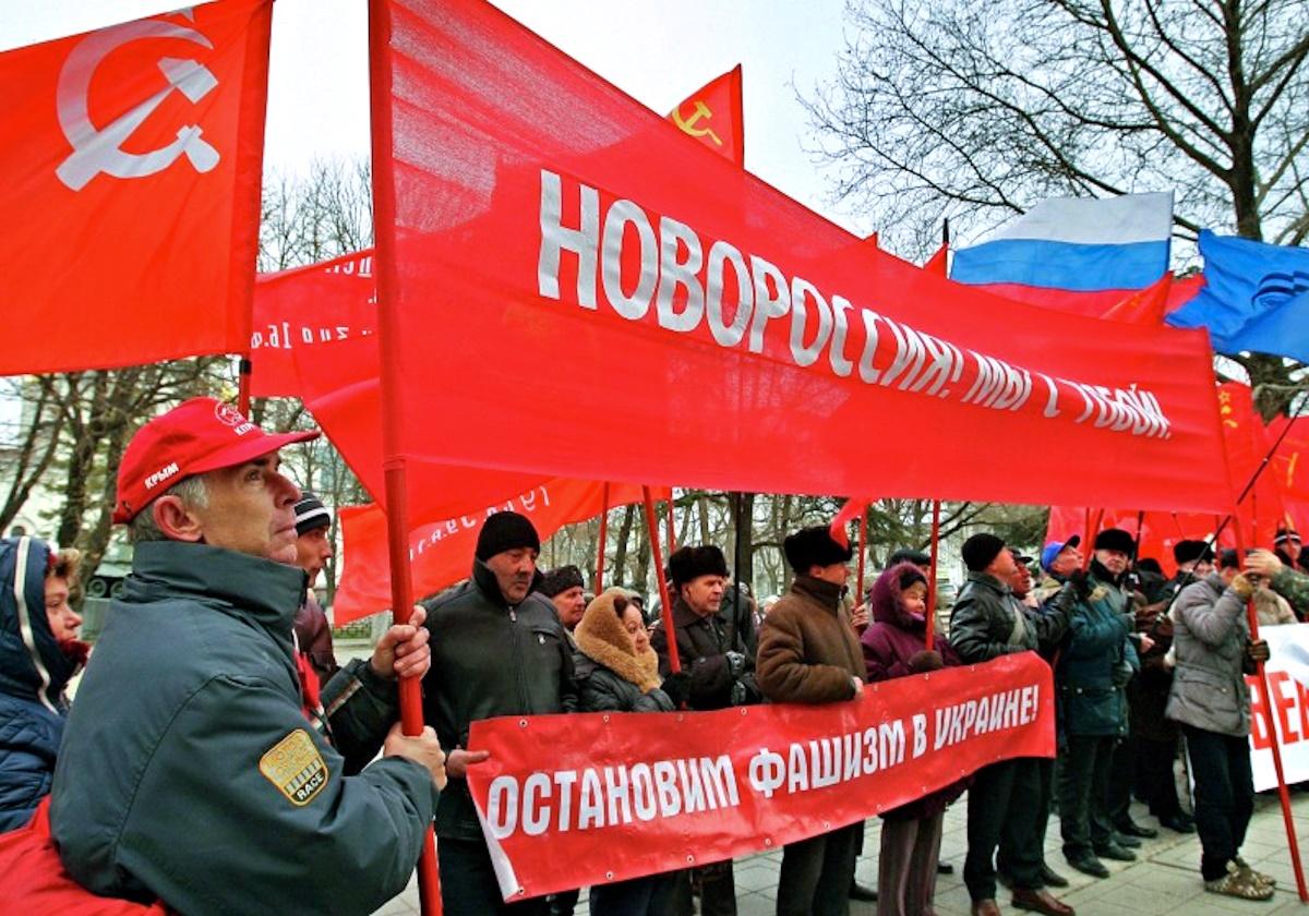 00 crimea. pro-novorossiya rally. 05.01.15